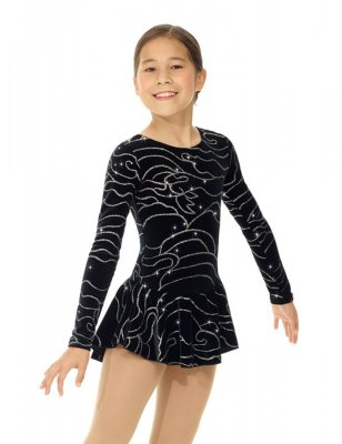 skateparadice Black Sea born to skate glitter dress